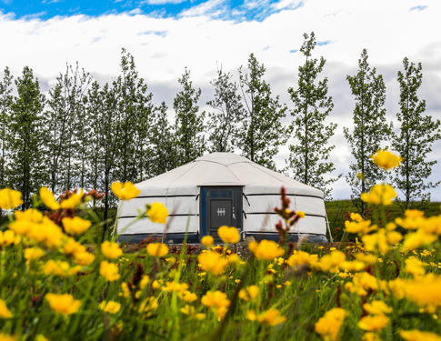 NEW Iceland Yurt Adventure