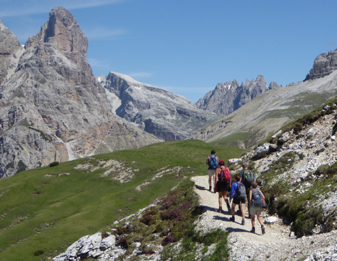 Walking and trekking group trips