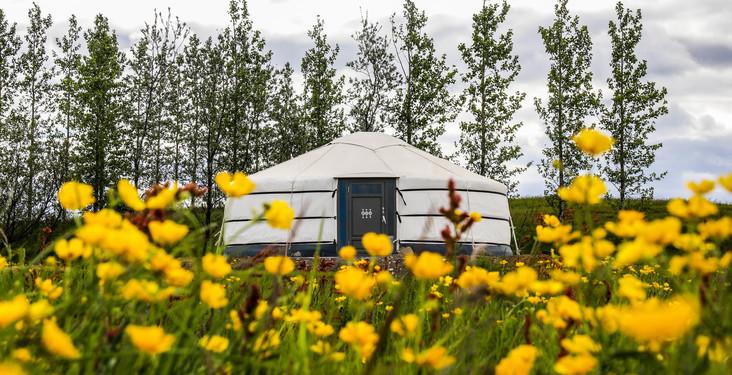 NEW Iceland Yurt Adventure
