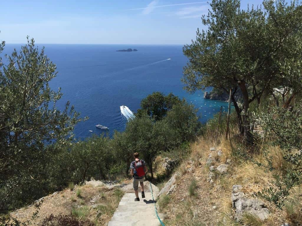 top six walks amalfi coast
