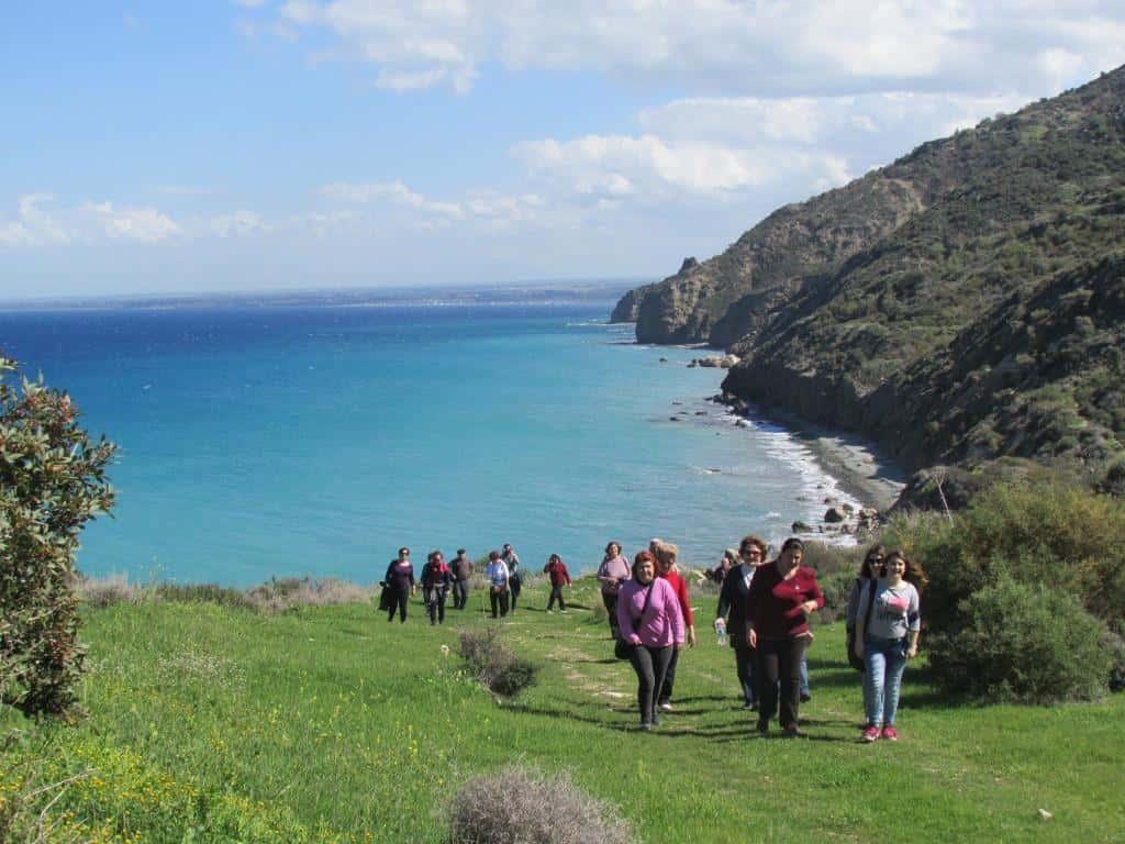 top six walks Cyprus