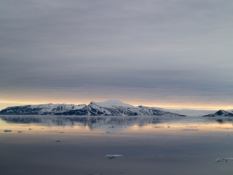 Norway and Spitsbergen Ice