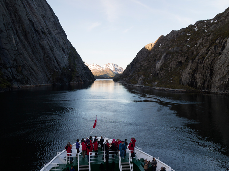 Norway and Spitsbergen Expedition in Fjords