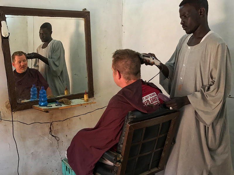 Sudan Simon Grove Hair cut time