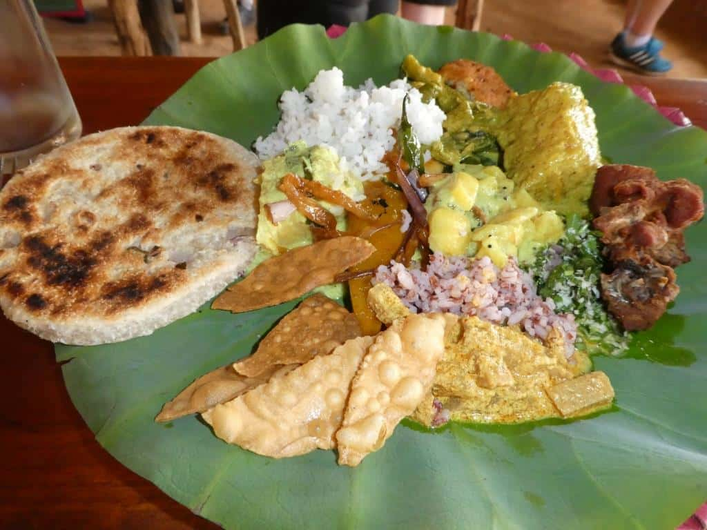 india contrasts food