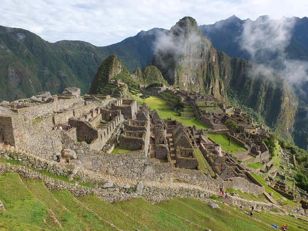 machu picchu peru for the first time