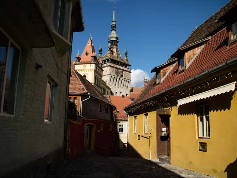 Romania Press trip Medieval town of Sighisoara