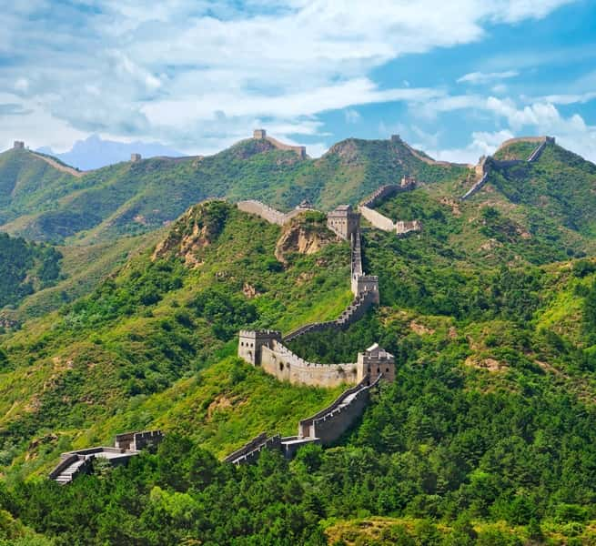 Great Wall Of China Map View.The 7 Wonders Great Wall Of China Explore