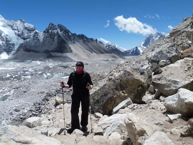 Walking in Nepal