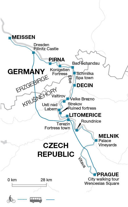 Cycling In The Czech Republic And Germany