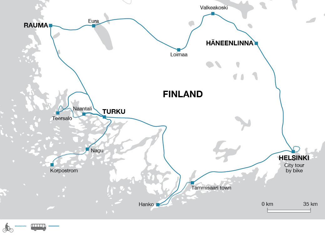 Cycling Holiday in Finland - Explore