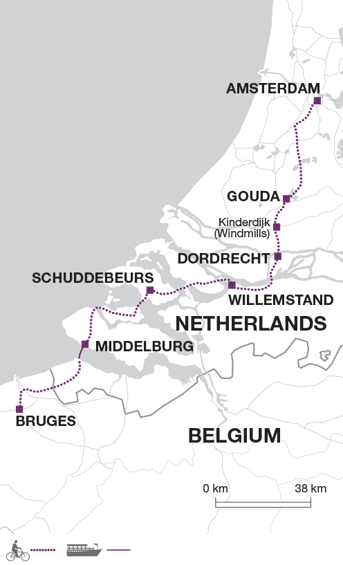 Cycling in the Netherlands and Belgium - Explore