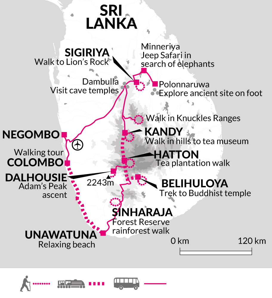 On Foot in Sri Lanka | Holidays - Explore
