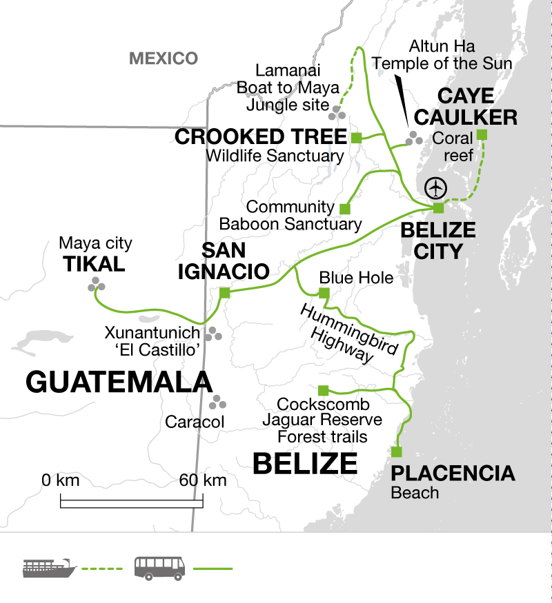 Explore Belize and the Mayan ruins of Tikal - Explore
