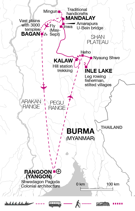 Burma Adventure Holiday Explore