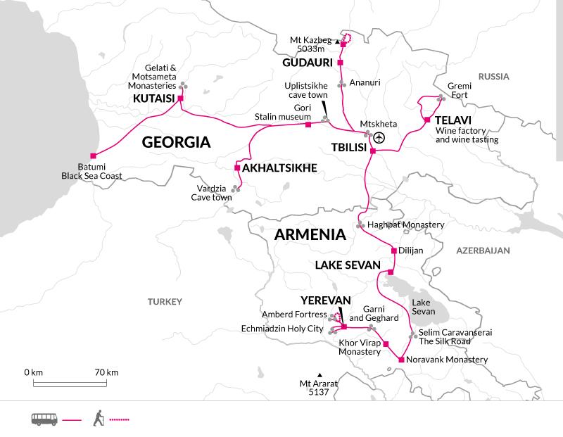 2019 itinerary