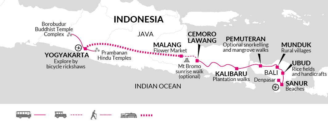 2020 itinerary