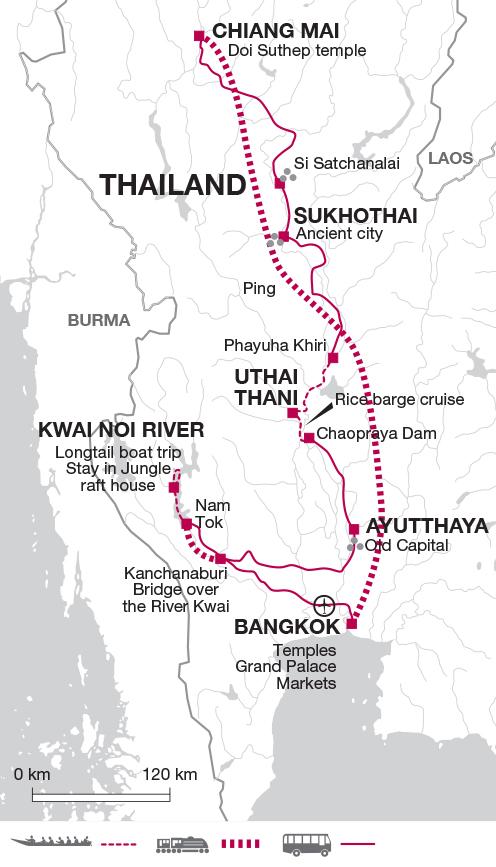 Malaria Karte Thailand.Thailand Cultural Adventure Explore