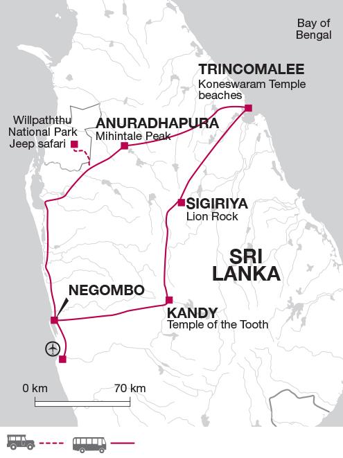 Highlights of Sri Lanka East Coast