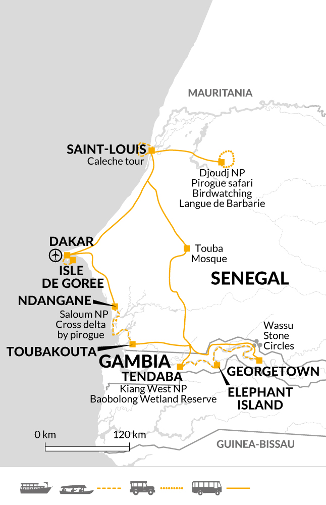 Senegal and Gambia river cruise holiday Helping Dreamers Do