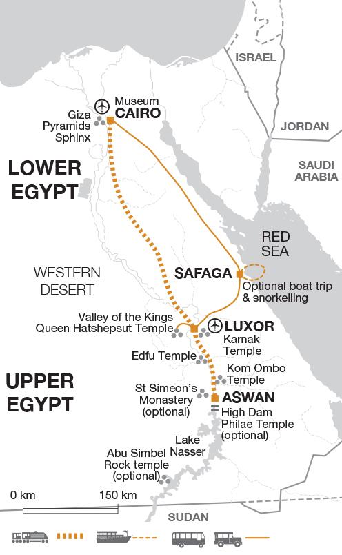 Egyptian Red Sea And Nile Cruise Tour - Explore