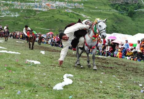 New Beyond trips Horsemanship skills Tagong Horse Festival