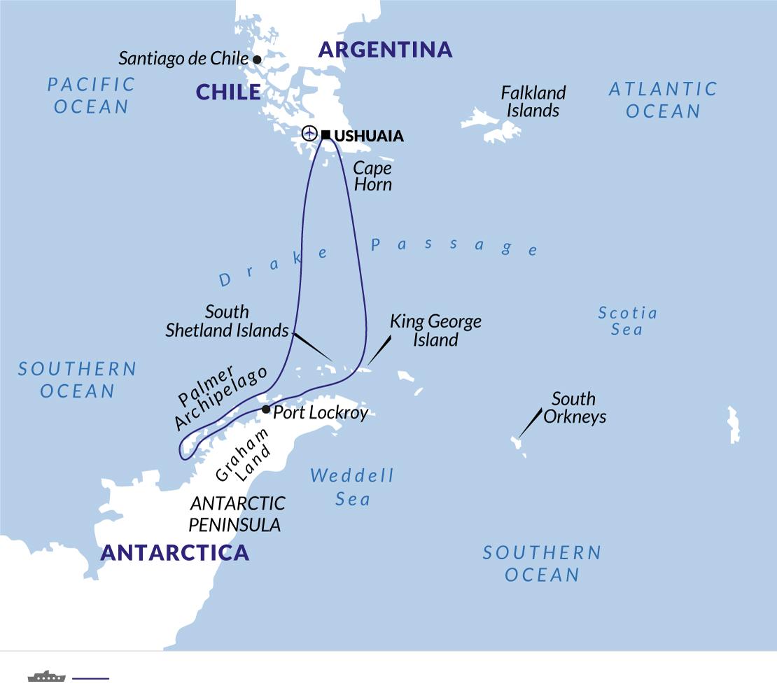 Antarctic Circle - Expedition