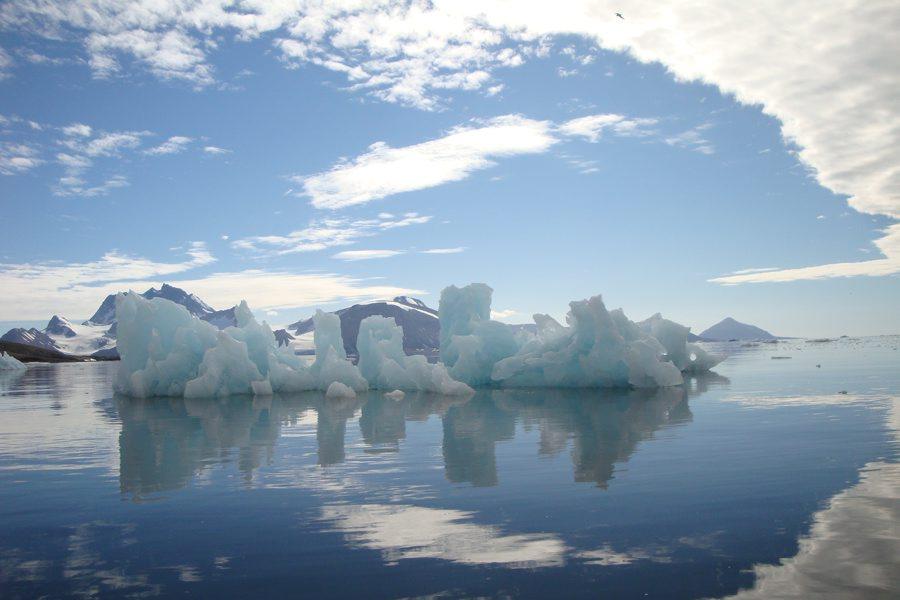 Glacial scenery