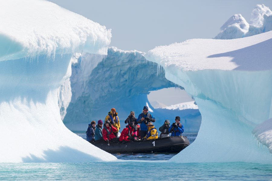 Sandra Walser - Antarctic ice