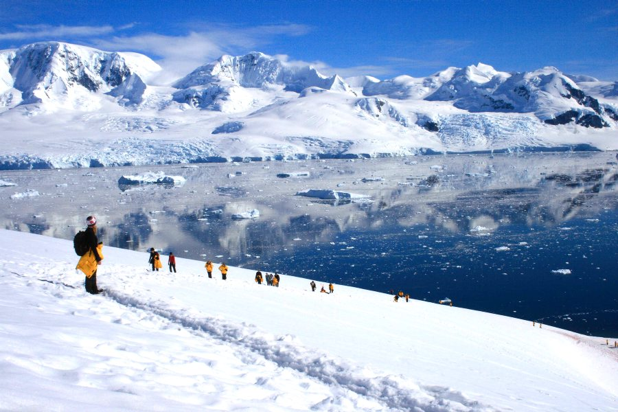 Antarctic vista