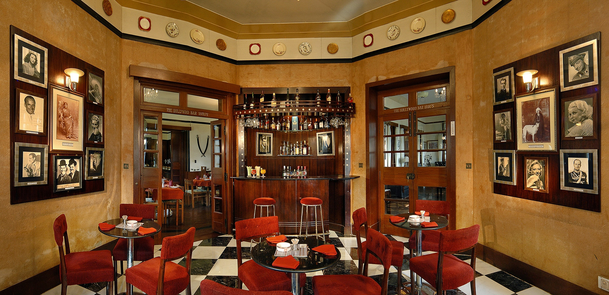 Bar at the Woodville Palace Hotel, Shimla