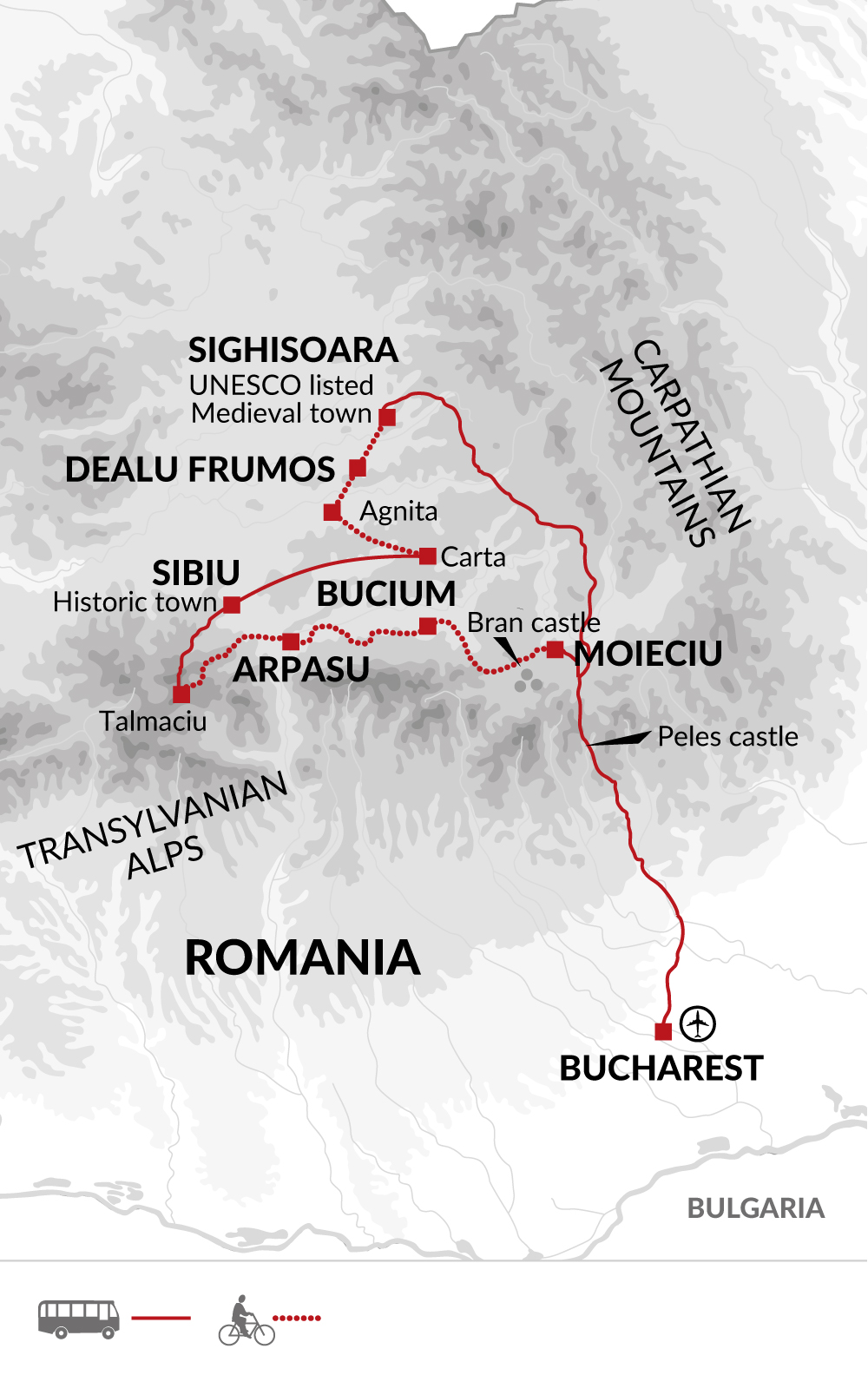 CRT Map