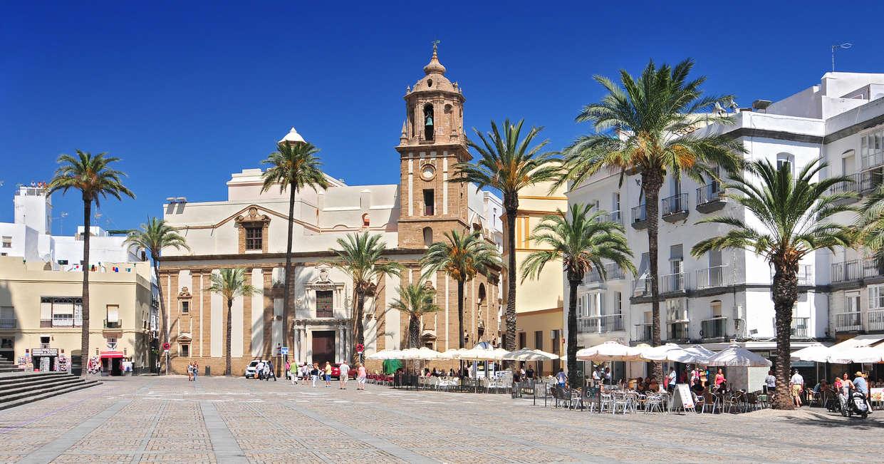Cathedral Square, Cadiz