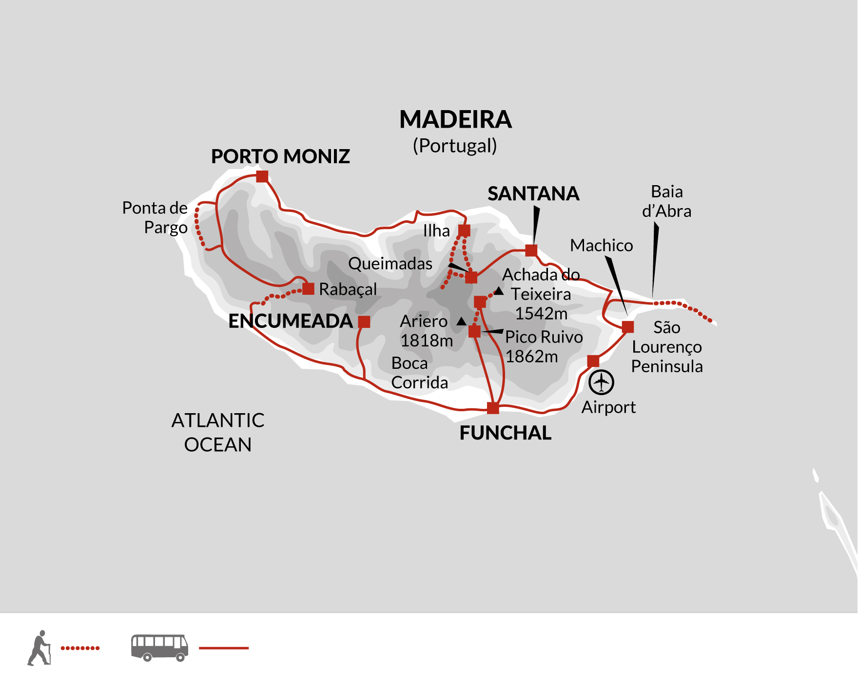 2022 Itinerary