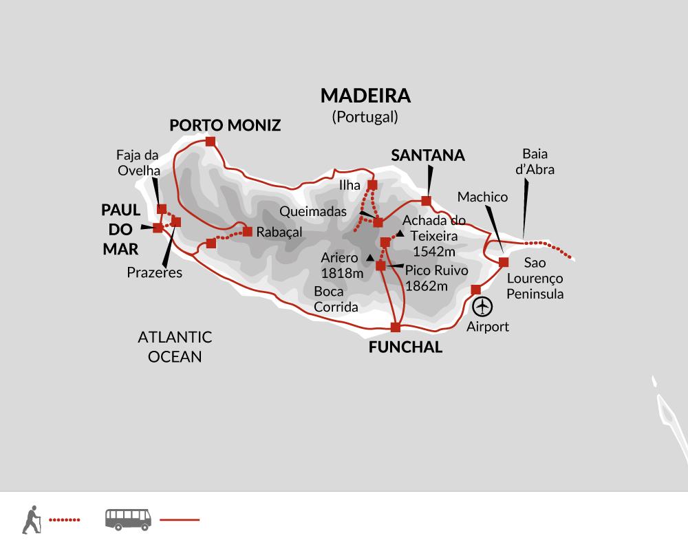 2021 Itinerary