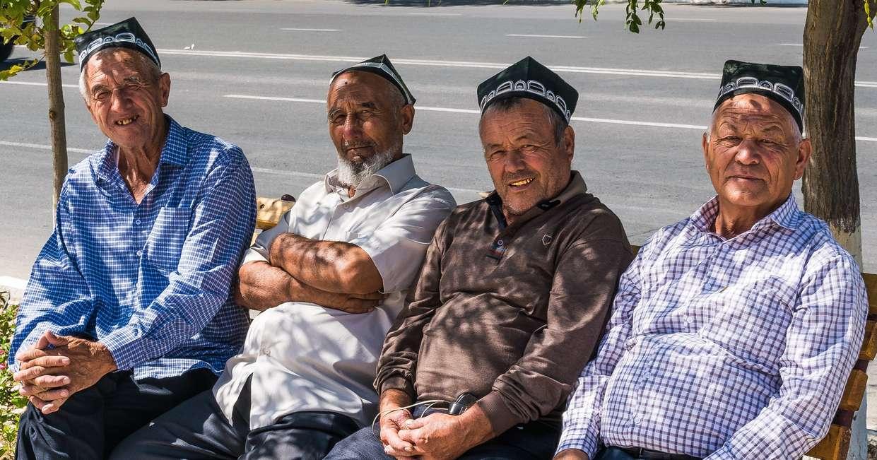 Uzbek men