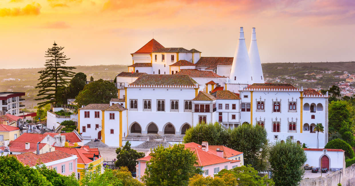 Self-Guided walking in Sintra, Portugal
