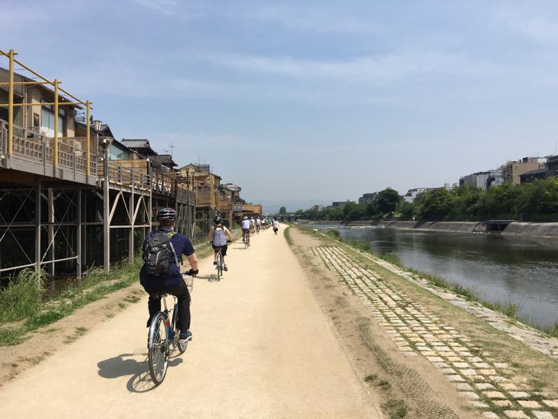 Kyoto cycle ride