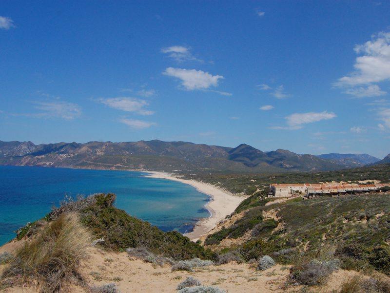 Unspoilt coast