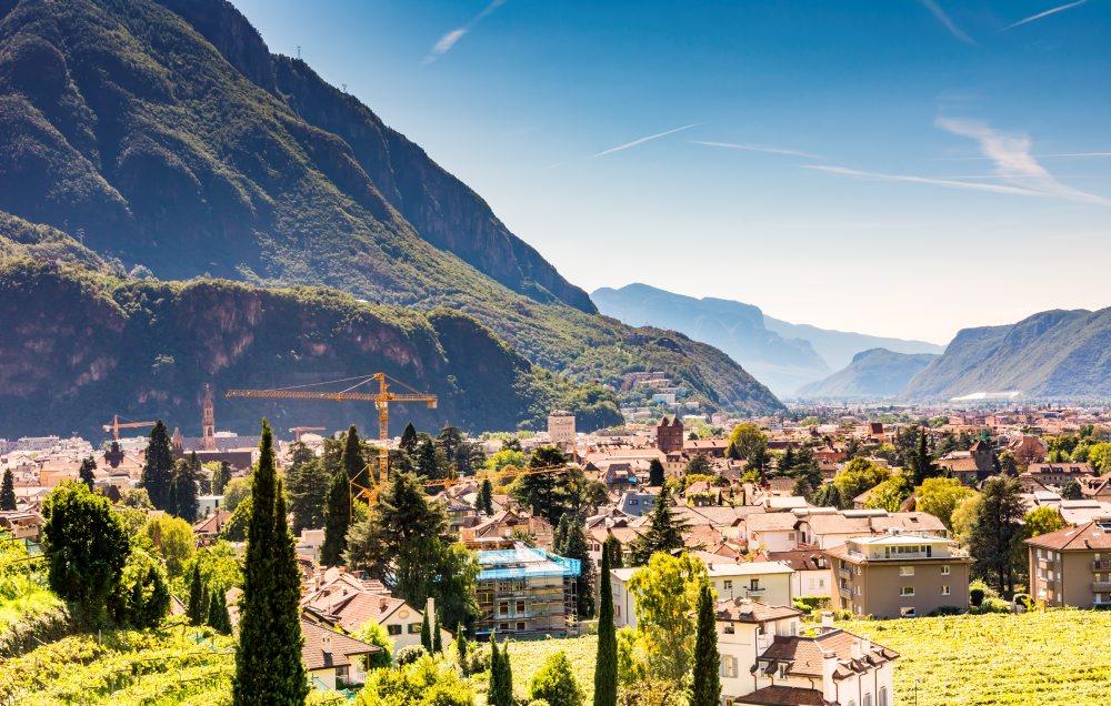 Bolzano town