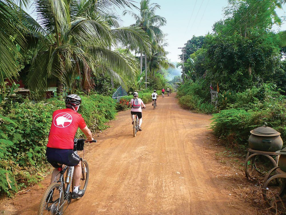 Cycling the backroads