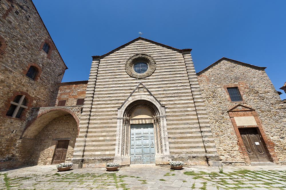 Lucignano Church