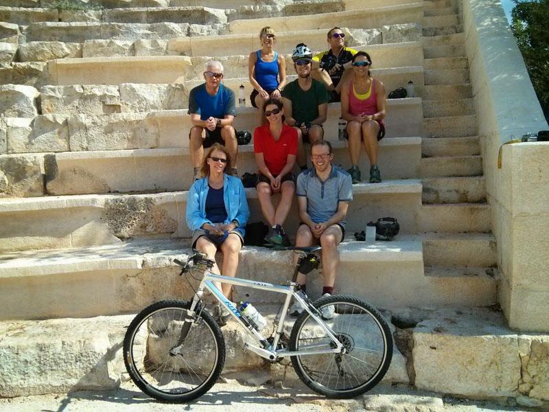 Group photo at Antiphellos, Kas