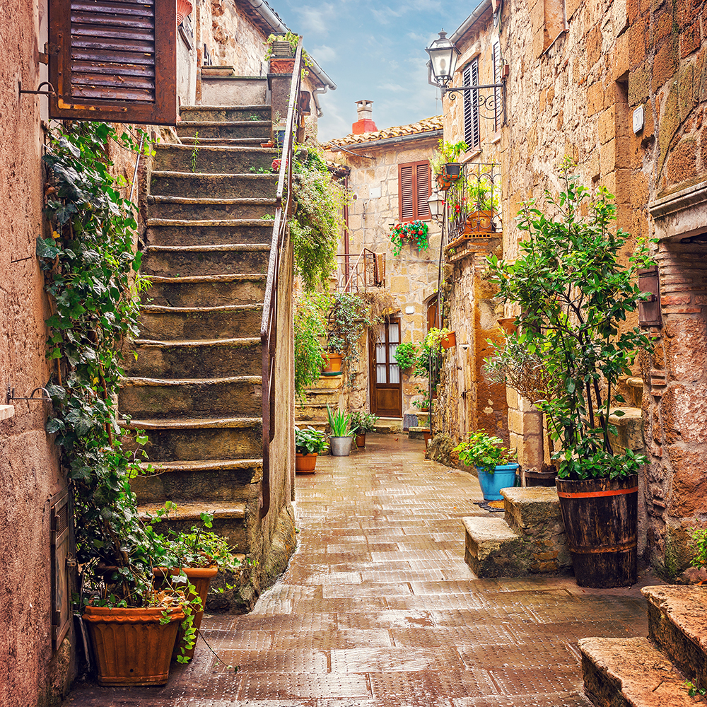 Alley in Pitgliano
