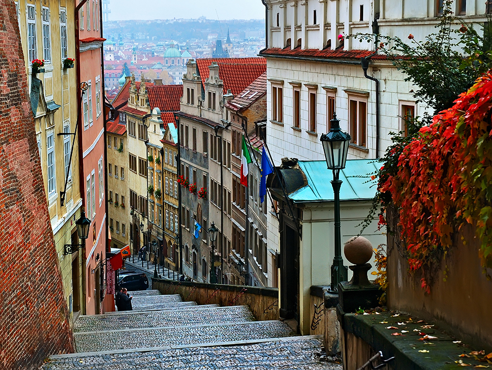 Explore Prague's characterful streets