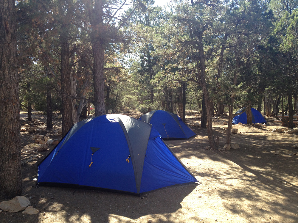 Camp sites used in USA