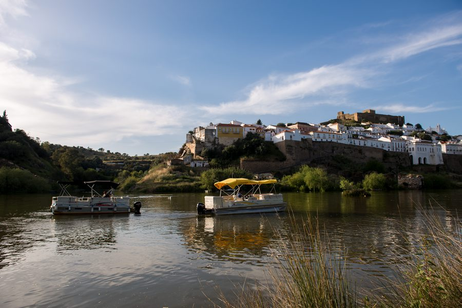 Boat trip on the Guadiana River to Alcoutim