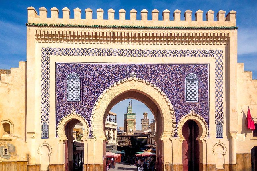 Blue gate, Fez