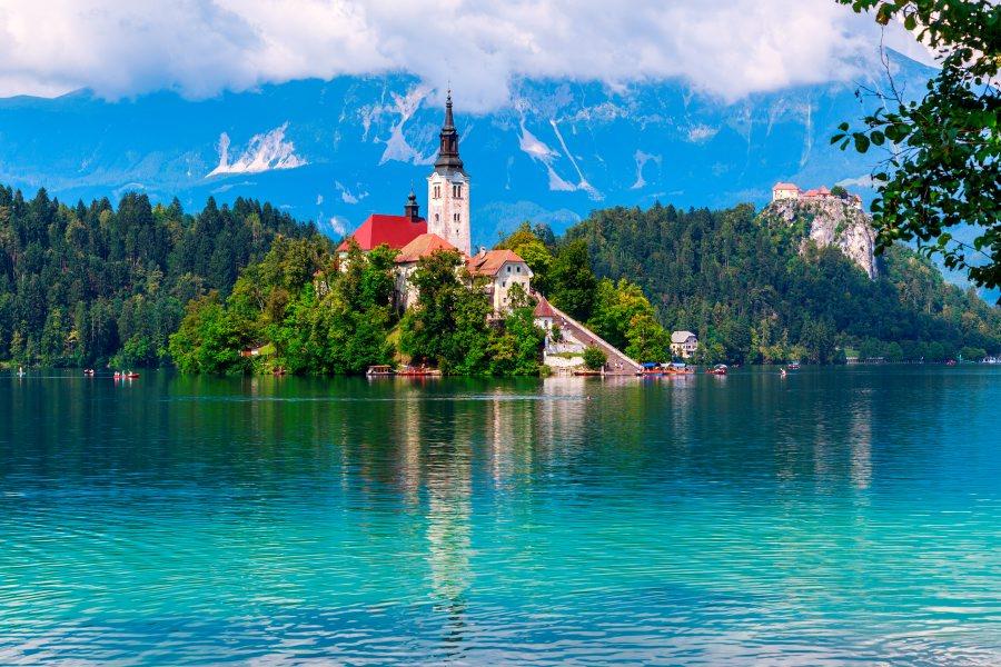 St Mary's Church, Lake Bled