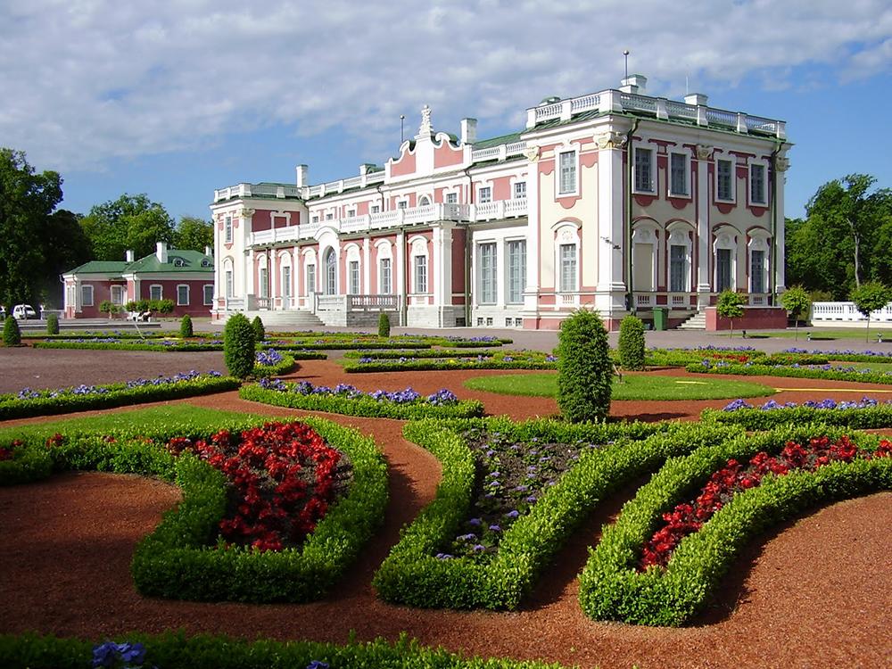 Baroque architecture of Kadriorg Palace